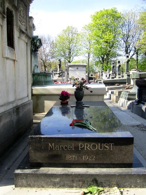 Proust's grave