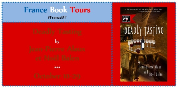 Is is Merlot? Or Murder? Deadly Tasting from @LeFrenchBook #review