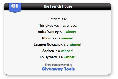 The French House winners