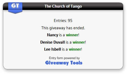 Church of Tango winners