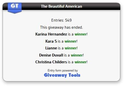 The Beautiful American Winners