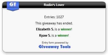 Rodin's Lover winner