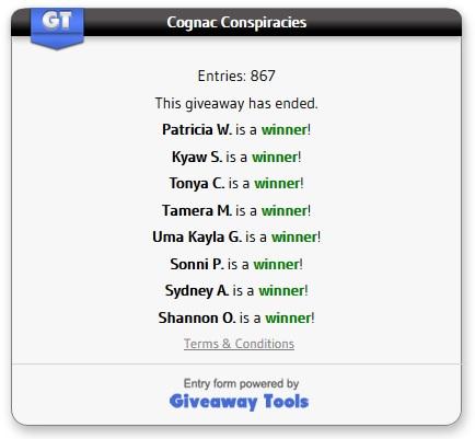 Cognac winners