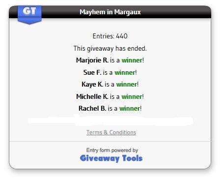 Mayhem winners