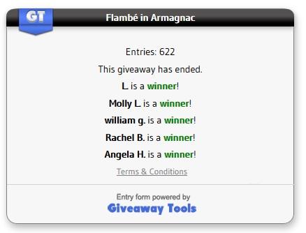flambé winners