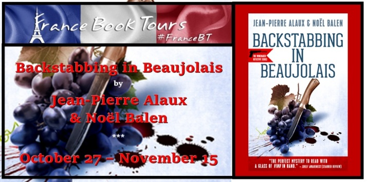 Backstabbing in Beaujolais banner