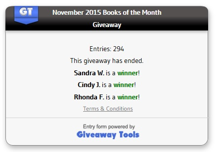 November winners