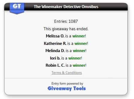 Winemaker Omnibus winners