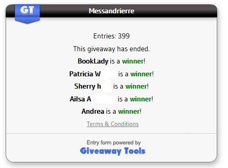 Messandrierre winners