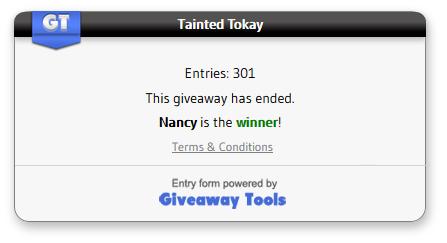 Tainted Tokay winner