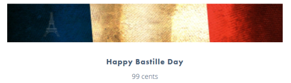 Bastille Day deal