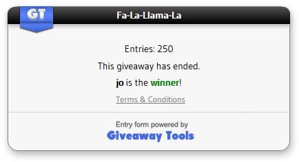 llama-winner