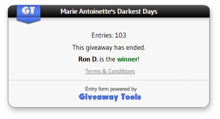 Marie Antoinette's winner