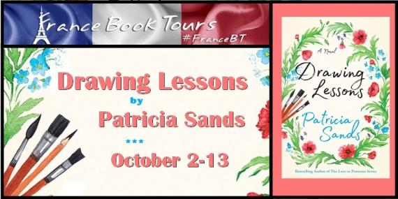 French Village Diaries book review Drawing Lessons Patricia Sands #FranceBT