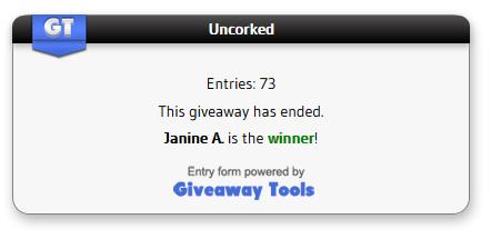 Uncorked winner