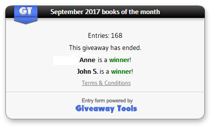 September winners
