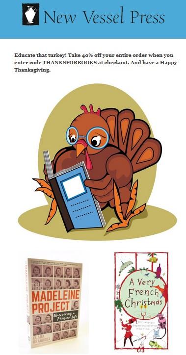 Thanksgiving discount
