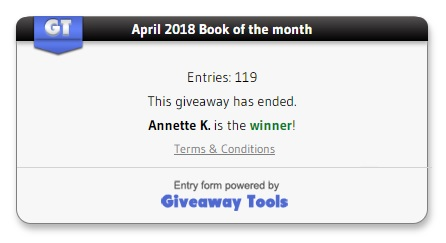 April book winner