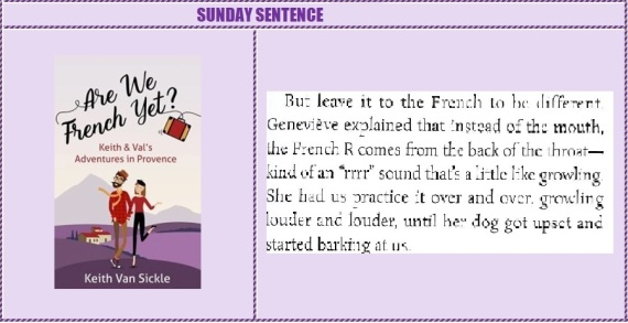 Sunday Sentence Are We French yet