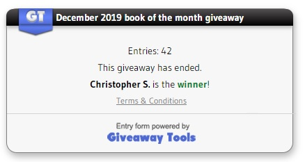 Dec 2019 book winner