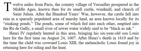 Marie Antoinette's World First Chapter First Paragraph