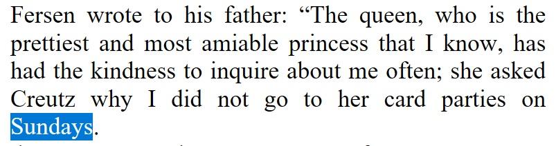 Sunday Sentence Marie Antoinettes World