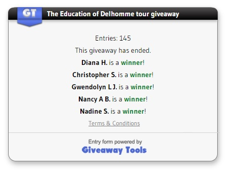 The Education of Delhomme winners