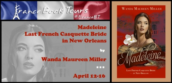 Madeleine Last French Casquette Bride in New Orleans Banner