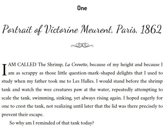 Victorine Book Beginnings