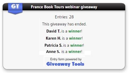 webinar winners
