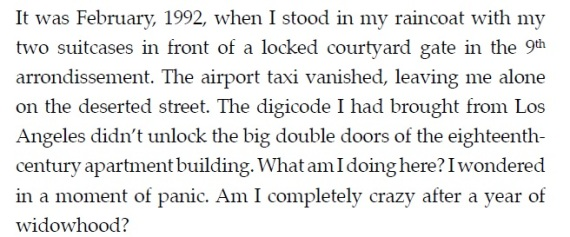 The Church of Tango - 1st Chapter 1st Paragraph